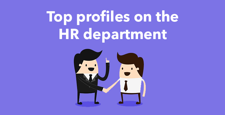 Top profiles on the HR department