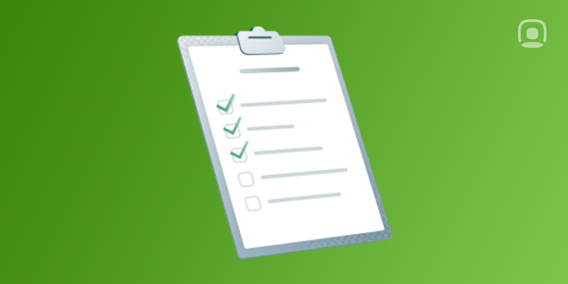 Checklist for a successful onboarding process