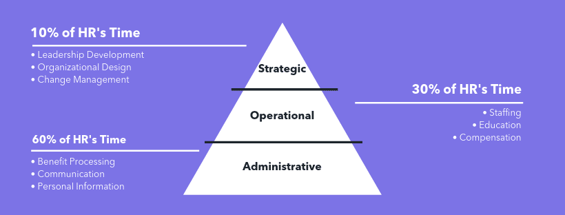 HRM pyramid role