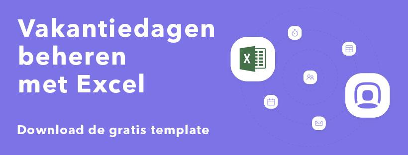 Beheer vakantieaanvragen met Excel [gratis template 2019]