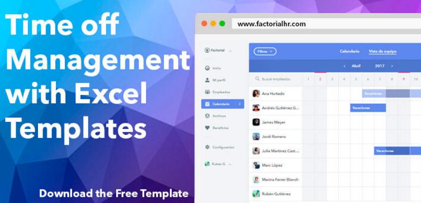 Time Management Sheet Template from factorialhr.com