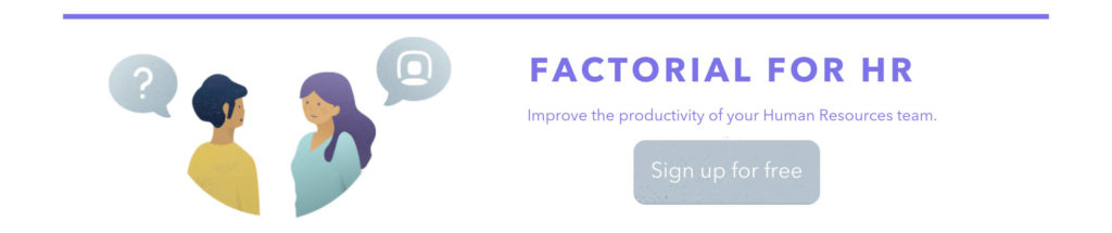 Factorial for HR software sign up free