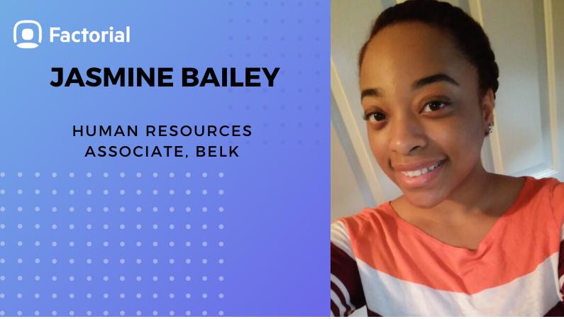 jasminte bailey belk interview