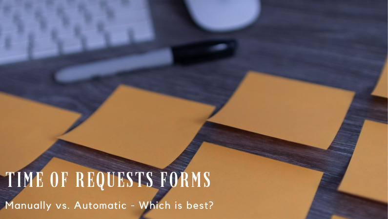 time off requests forms