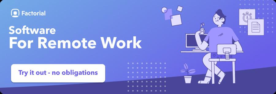 remote work software